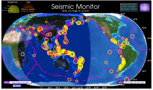 Worldwide Earthquake Monitor